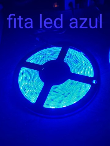Fita Led Azul 5 Metros  - Foto 4