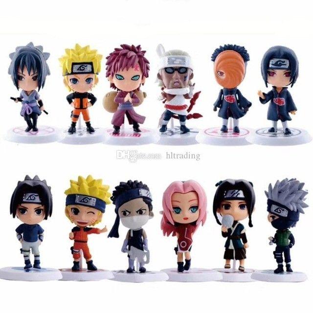 6 pçs/Conjunto Figuras de Ação Versão Q Naruto - Foto 5