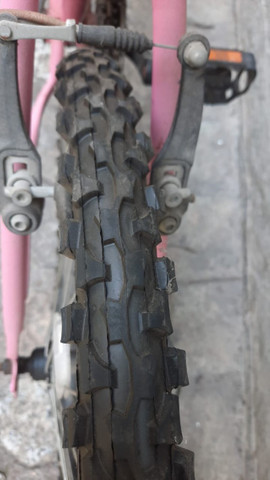 Bicicleta Feminina Houston Bristol Aro 24 Novinha - Foto 3