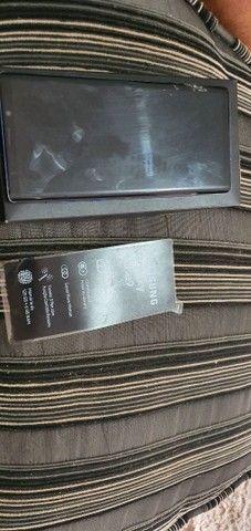 Galaxy Note9 tela trincada