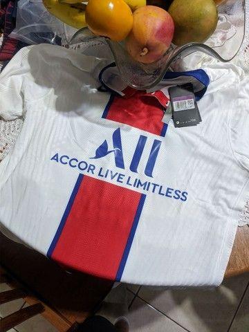 Camisa PSG versão jogador - Foto 2