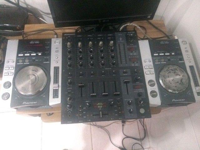 Cdj pionner 200 + mixer