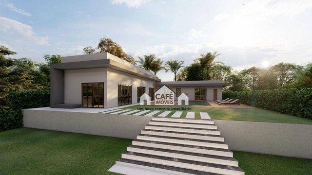 Casa com 4 dormitórios à venda, 270 m² por R$ 950.000,00 - Condomínio Vale do Luar - Jabot - Foto 2