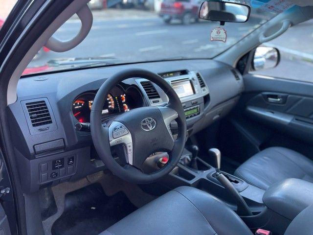 Toyota Hilux 12/12 SRV AUT. A MAIS NOVA DO OLX - Foto 5