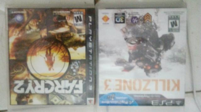 Kill zone 3 e far cry 2 por minecraft