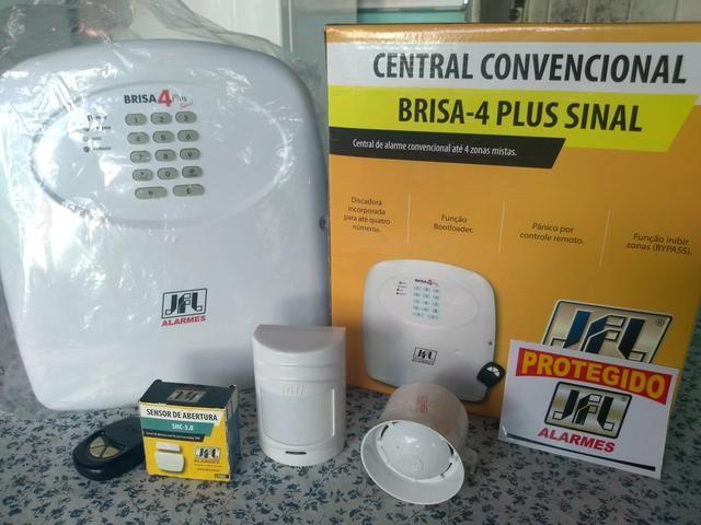 Kit Alarme Residencial / Comercial (Novo! Nunca usado)