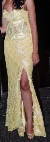 Vestido longo formatura madrinha festa