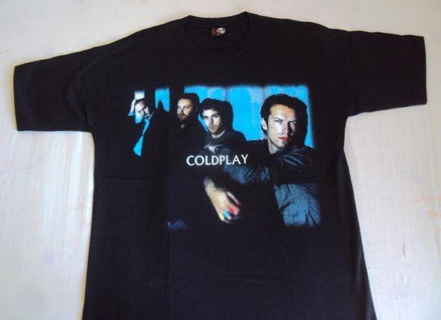 Camiseta exclusive Coldplay ótima malha nova sem uso