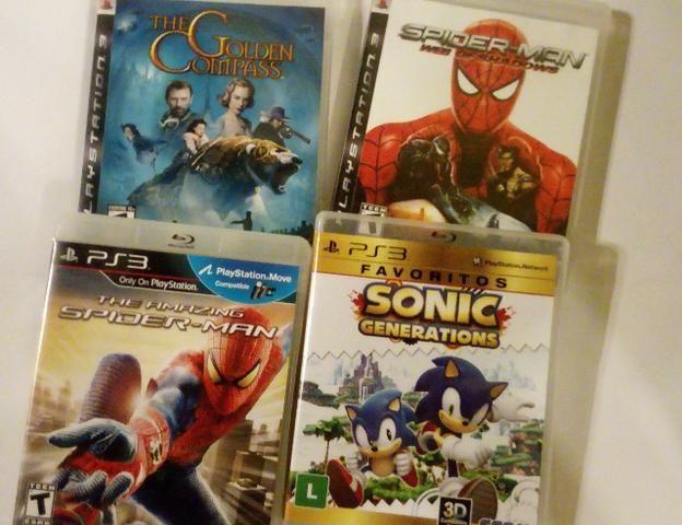 Combo 4 Jogos Heróis