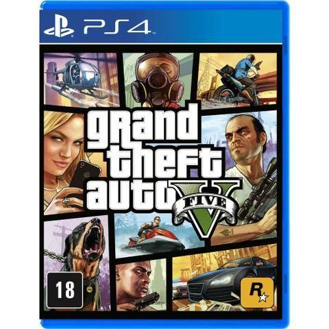 GTA 5 pra PlayStation 4 novo