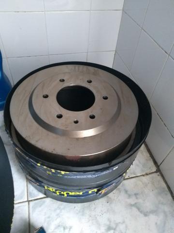 Conj Tambor de Roda + Sapatas de Freio - Blazer 97 c/ 6 Furos