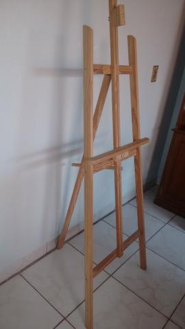 Cavalete para pintura em tela