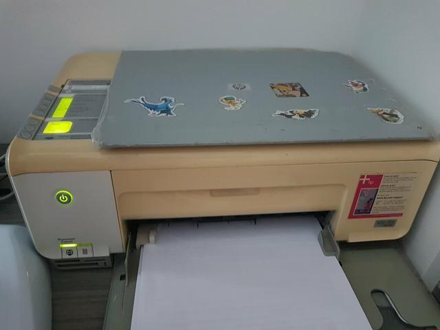Impressora multifuncional HP C3180