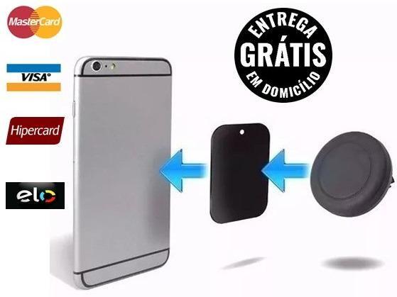 Suporte iphone android veicular celular imã saida Ar - entrega gratis