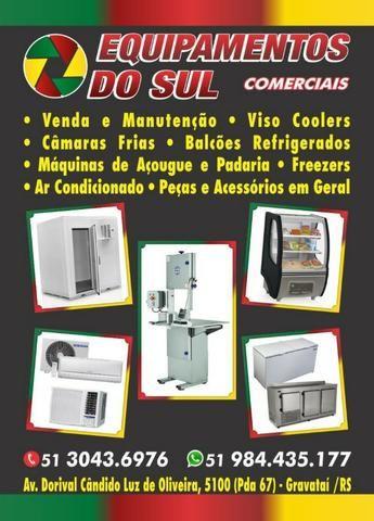 Ar Condicionados, Câmaras frias, equipamentos para mercados, padarias, açougues e etc.