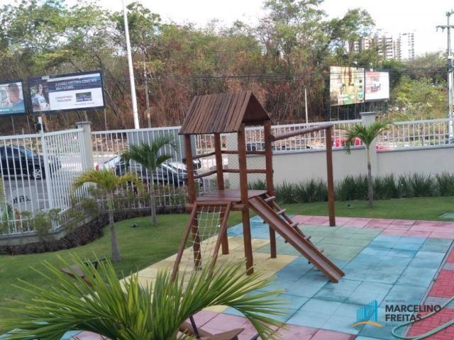 Apartamento com 3 dormitórios para alugar, 110 m² por r$ 2.079,00/mês - salinas - fortalez - Foto 20