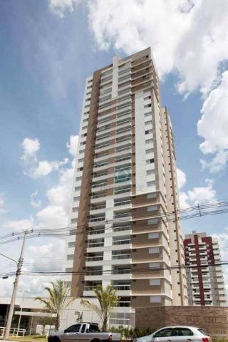 Apartamento com 3 dormitórios à venda, 132 m² por r$ 1.000.000,00 - centro - campo grande/
