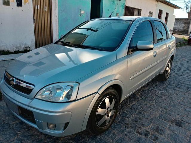 Vendo Corsa Sedã Premium 1.4 2010 completo de Tudo! - Foto 3