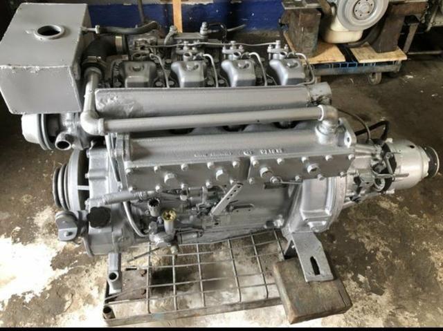Motor mwm maritimo 229 com reversor hidráulico 2x1.zerado - Foto 4