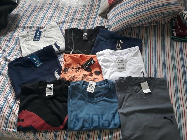 Lote de camisas - Roupas e calçados - Porto do Centro 17b8d33dab2