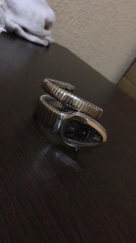 bfa76dfd565 Relógio Feminino Bvlgari Serpente - Bijouterias