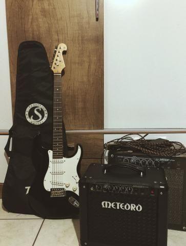 Guitarra Tagima + Amplificador