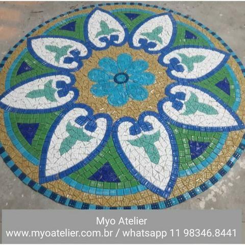 Golfinho mosaico, golfinho para piscina, mosaico artistico, baleia, peixe, piscina - Foto 6