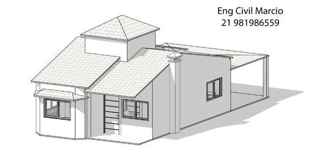 Engenheiro civil - Projeto Arquitetonico - Planta baixa - Projeto estrutural - Foto 5