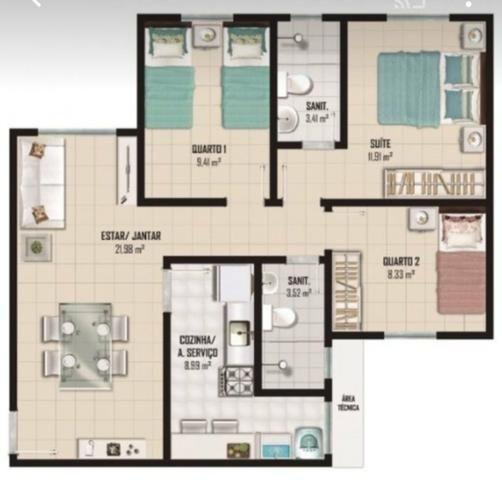3 quartos com suíte Boa Vista - Foto 6