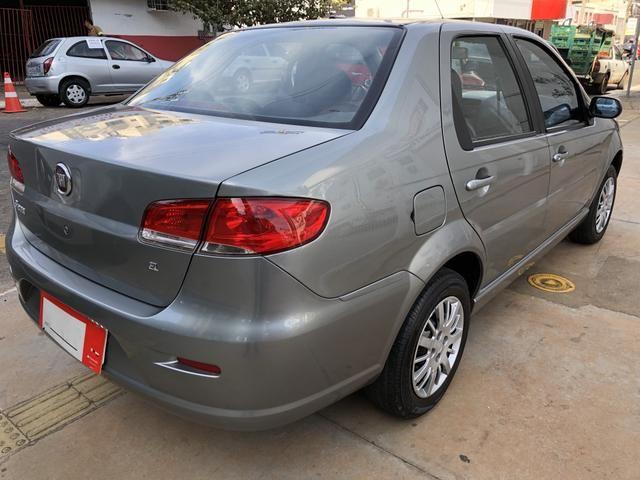 Fiat Siena El Completo 1.0 Flex 4 Portas Cinza 2009/10 - Foto 3