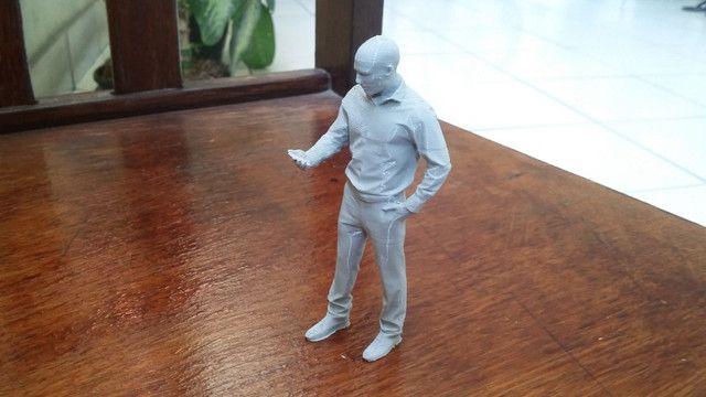 Miniaturas em 3D para Diorama