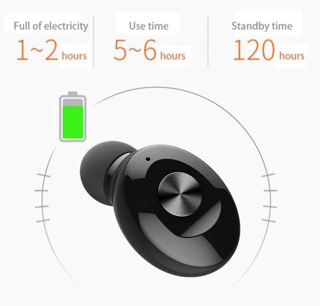 Fone de ouvido TWS bluetooth mono single XG-12 excelente Áudio e bateria