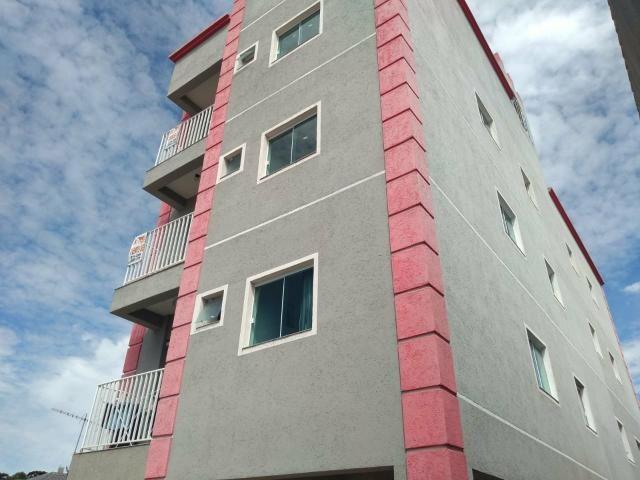 EF/ apartamento em Fazendinha com sacada estacionamento coberto - Foto 3