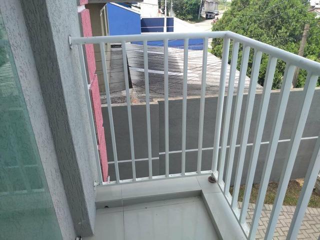 EF/ apartamento em Fazendinha com sacada estacionamento coberto