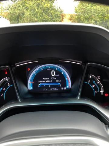Civic 2017 EXL Branco perolizado 20 mil km - Foto 3