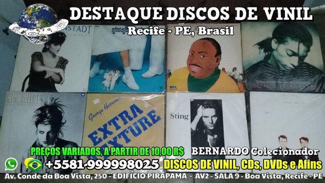 Raridades da Música em Vinil, CDs e DVDs, Edificio Pirapama, Boa Vista, Recife - PE