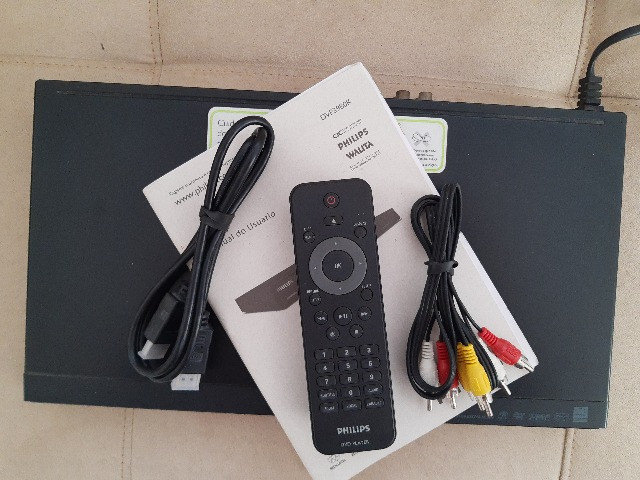Dvd Philips Dvp3980kx/78 com Karaokê (Tudo funcionando) - Foto 2