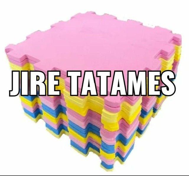 Kit Tatame 50x50x2cm com 8 placas - Foto 2