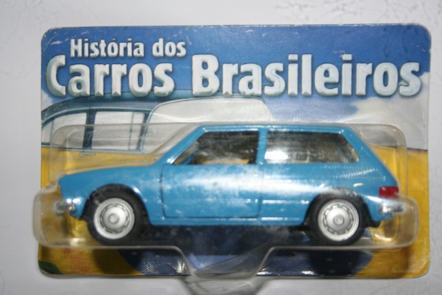 Miniatura de Carro Nacional VW Brasília da Maísto