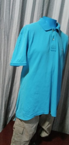 Camisa Polo Azul - G - Foto 3