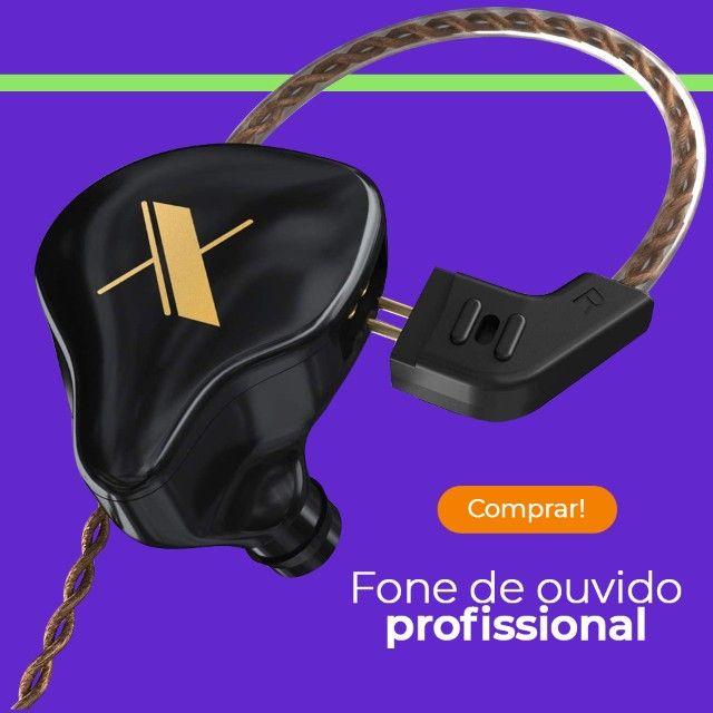 Kz edx fone de ouvido profissional