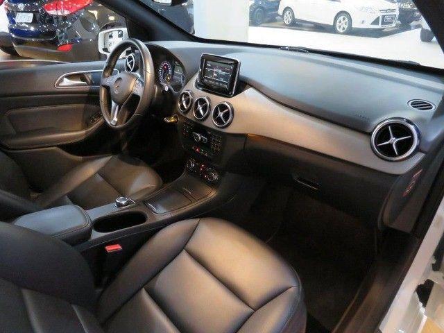 Mercedes-Benz B 200 1.6 Sport Turbo Aut Blindagem III-A Top de Linha C/ Paddle Shift - Foto 13