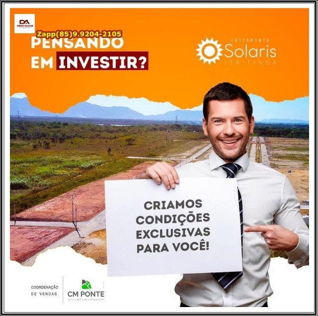 Lotes Solaris em Itaitinga %%% - Foto 8