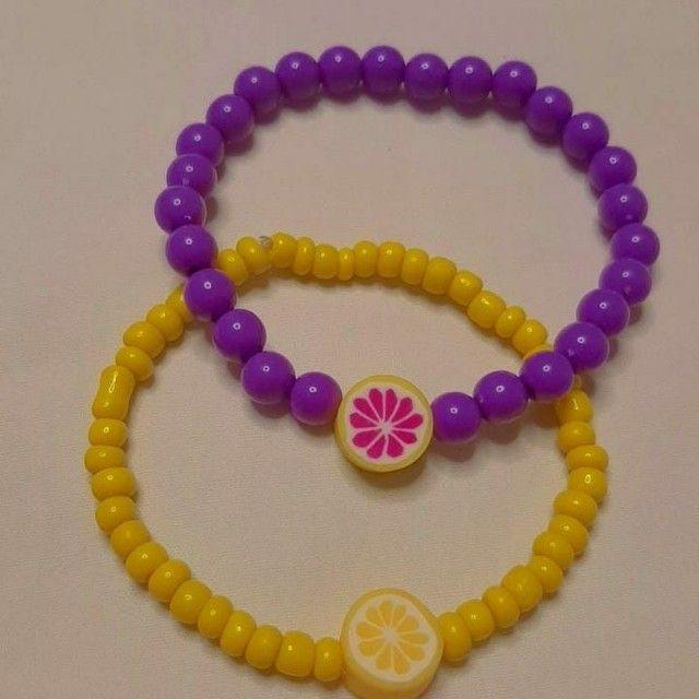 Pulseiras personalizadas para vender feitas a mão nosso instragam: ju_pulseiras  - Foto 5