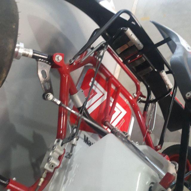 kart motor parilla refrigerado a água chassi birel - Foto 2
