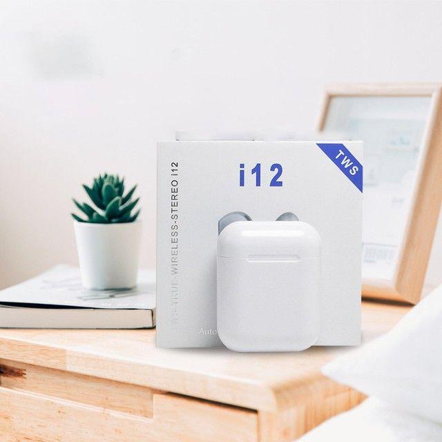 Fone Bluetooth i12 TWS - 2021 - iOS/ Android  - Foto 2