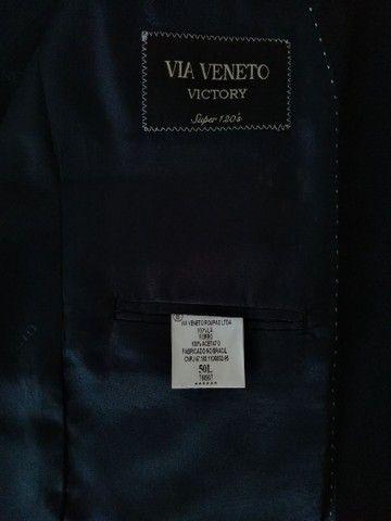 Costume Via Veneto azul marinho 50L - Foto 4