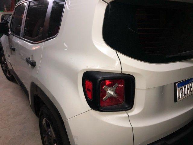 Jeep Renegade no meu nome, vis 2021