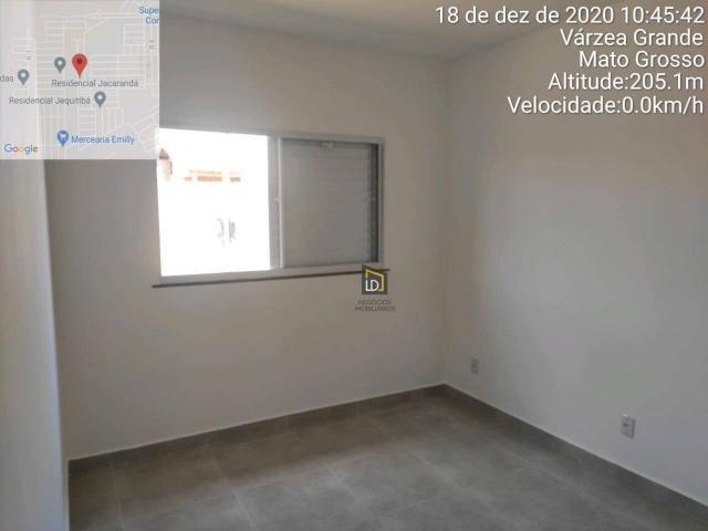 Casa com 2 dormitórios à venda, 66 m² por R$ 159.900 - Jacaranda - Várzea Grande/MT - Foto 9