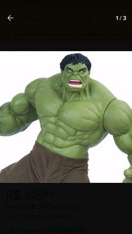 Boneco Hulk Verde versão 1945 Premium Gigante